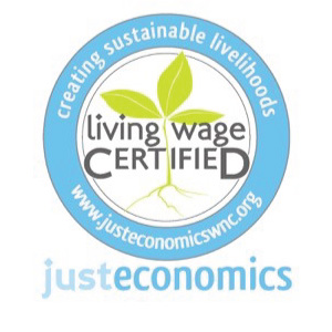 Sustainable livelihoods graphic, living wage certified